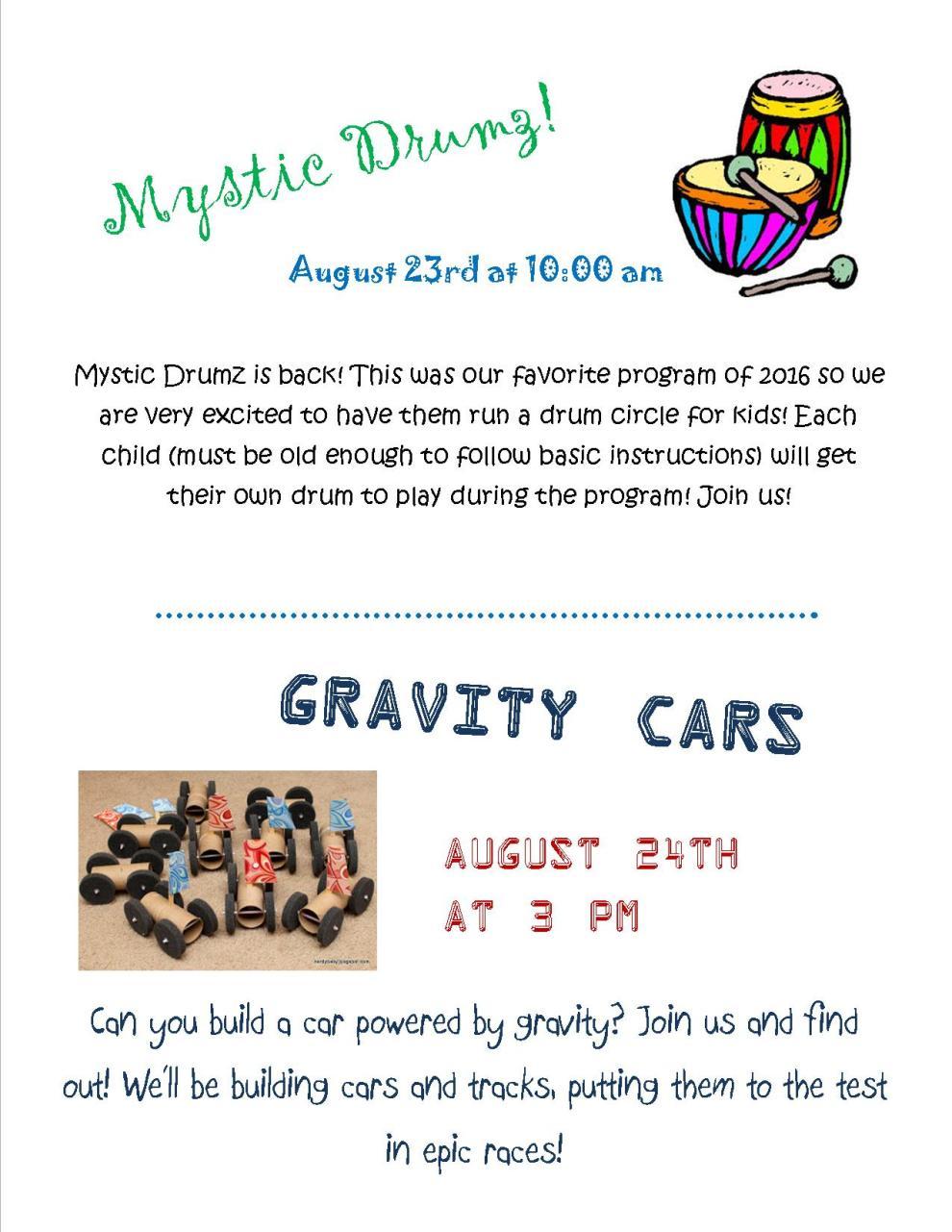 gravitycarsprogram