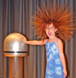 February 18th at 11am Featuring a Van de Graaff generator and more hands on fun, kids of all ages will gain a better understanding of electricity!
